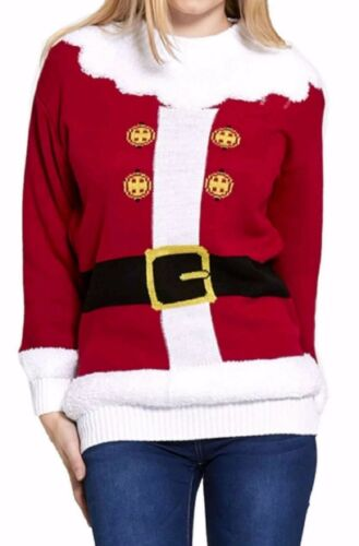 Unisex Mens Womens Christmas Xmas Jumper Sweater Knitted Retro Jumpers