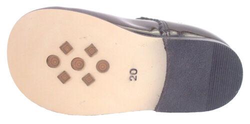 Baby//Toddler Girls Euro Black Patent Dress Shoes DE OSU//FARO F-3506 Size 4-6