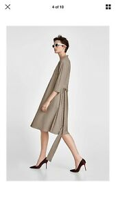 Zara Midi Genuine Xl Size Checkered Flowing qq4wB0g