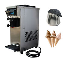 Intsupermai 10 15lh Commercial Soft Serve Ice Cream Maker Machine 1 Flavo Withpan