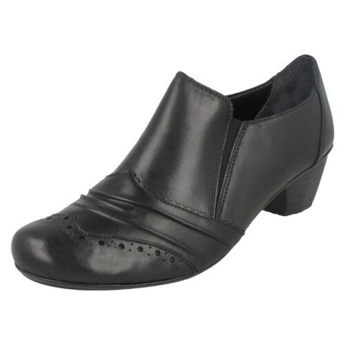 Pants Rieker mann 41730 Antistress Leder Schnürschuh Schwarzes Shoes qvY8pnw