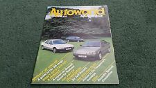 AUTUMN 1987 RENAULT AUTOWORLD NO.102 UK BROCHURE GTA EUROPA CUP FASA 5 11 21 25