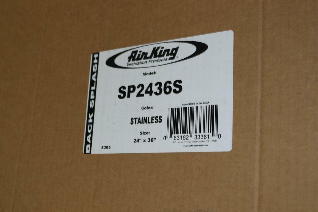- Air King SP2436W 36 In White Backsplash For Sale Online EBay