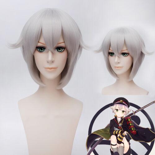 CAP+Free TRACK number Touken Ranbu Hotarumaru Costume Cosplay Anime Wig