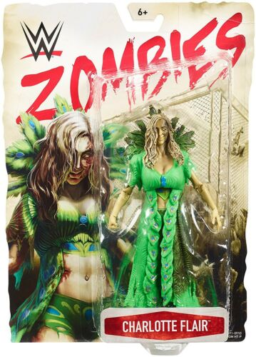 WWE Wrestling Zombies Charlotte Flair Action Figure