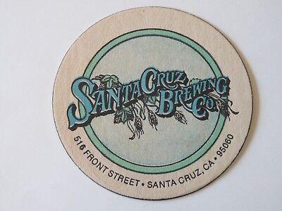Befangen Gehemmt ~ Kalifornien Verlegen Bier Untersetzer ~ Santa Cruz Gär Company Selbstbewusst Unsicher vorne St Pub