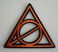 Harry Potter - Heiligtümer des Todes Logo - Uniform Patch Aufnäher zum Aufbügeln