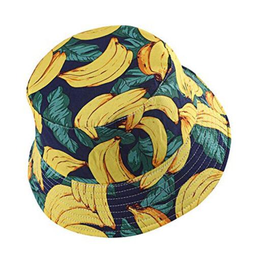 Unisex Summer Boonie Bucket Hat Wide Brim Cotton  Sun Visor Outdoor Fishing Cap