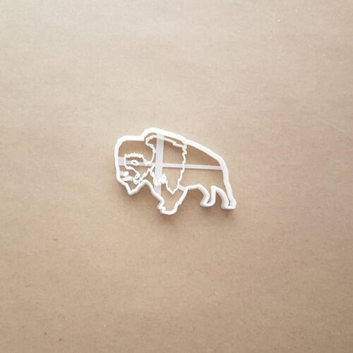 Buffalo Bison eau bovins Forme Cookie Cutter Pâte Biscuit Stamp Sharp