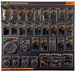 FOX-EDGES-TERMINAL-TACKLE-amp-ACCESSORIES-SWIVELS-RIG-RINGS-MAGGOT-CLIPS-ETC
