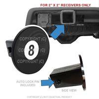 Custom Class 3 Tow Hitch Receiver 2 Insert Plug Truck & Suv - 8 Pool Ball
