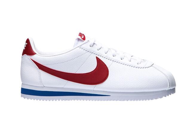 cheaper b7a06 d347e Chaussures Nike Cortez Homme Sportif en Cuir Baskets Faible Lumière en  Douceur