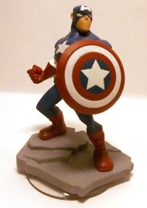 Disney-Infinity-2-0-CAPTAIN-AMERICA-Figure-Figurine-Only-Marvel-Toy-or-Cake-Top