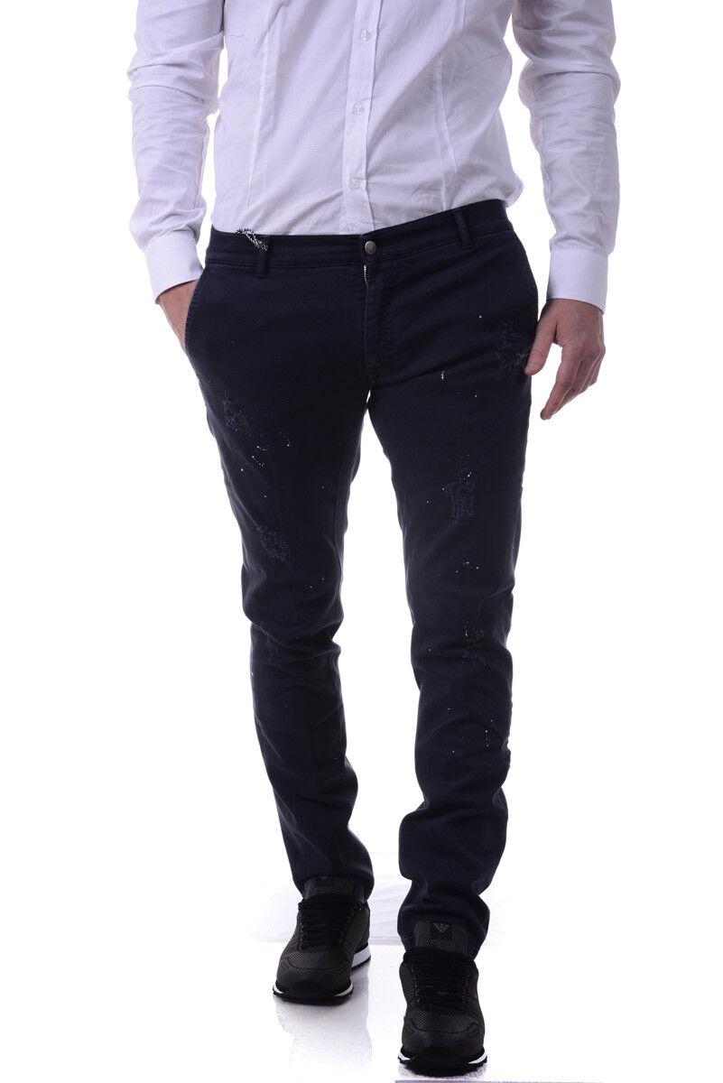 Jeans Daniele Alessandrini Jeans Cotone men blue PJ5559L4523600 23