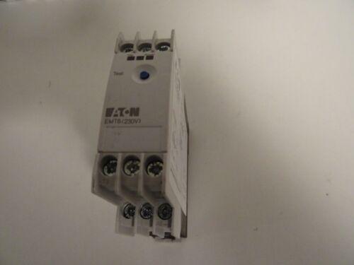 MSAA 066400 230v Eaton thermistor máquinas relés de protección emt6 protección del motor