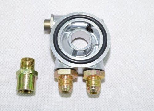 Ölfilter Adapter Sandwich Platte mit Thermostat Dash8 Ölkühler M20x1,5 Adapter