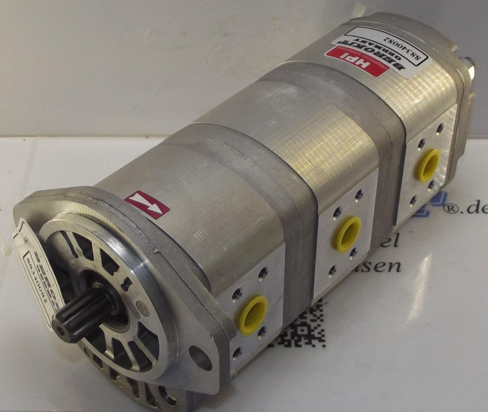 PEL JOB EB12 EB16 EB22 EB22.4 Bobcat X125 Hydraulikpumpe E5350009 ...