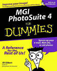 MGI Photosuite 4 For Dummies by Jill Gilbert (Paperback, 2000)