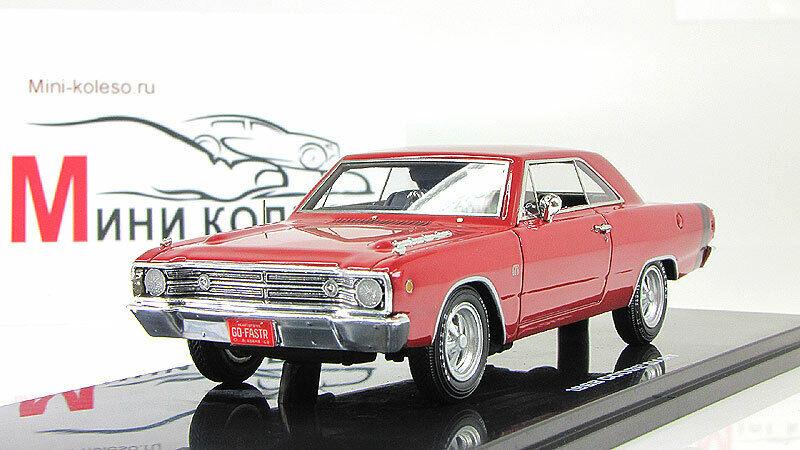 Coche escala 1 43, Dodge Dart GTS-Rojo 1968