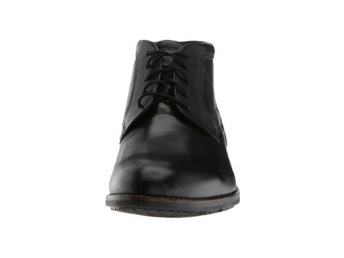 Rockport Mens Dustin Chukka Waterproof  Lace-Up Casual Dress Shoes Ankle Boots