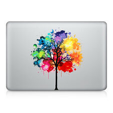 "kwmobile Sticker für Apple Macbook Air 13"" Pro Retina 13"" Pro 13"" Regenbogen"