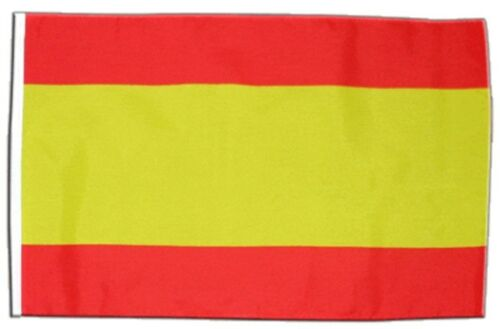 L/'ESPAGNE SANS BLASON Bannière espagnole Drapeaux Drapeaux 30x45cm