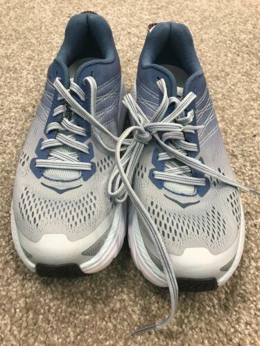 Women HOKA CLIFTON 6 blue  tennis running walking