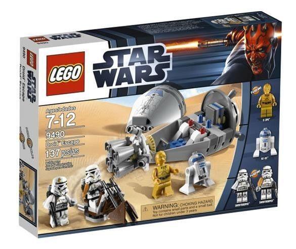LEGO Star Wars - Rare - 9490 Droid Escape - New & Sealed - R2-D2 C-3PO