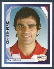 PANINI UEFA CHAMPIONS LEAGUE 2007-08- #312-PSV EINDHOVEN & DENMARK-KENNETH PEREZ