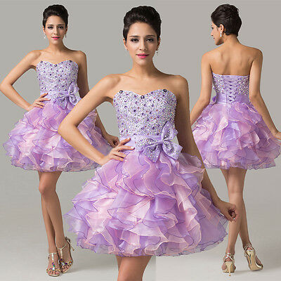 2015 NEW Party Evening Prom Cocktail Quinceanera Wedding Formal Bridesmaid Dress