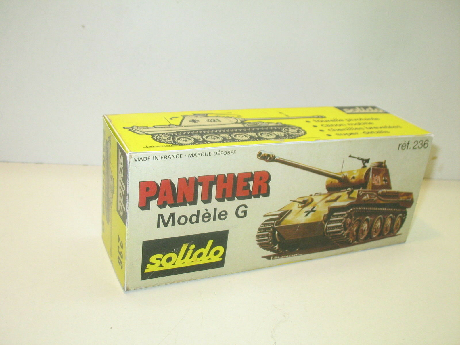 N83, Boite repro char PANTHER G,  militaire SOLIDO