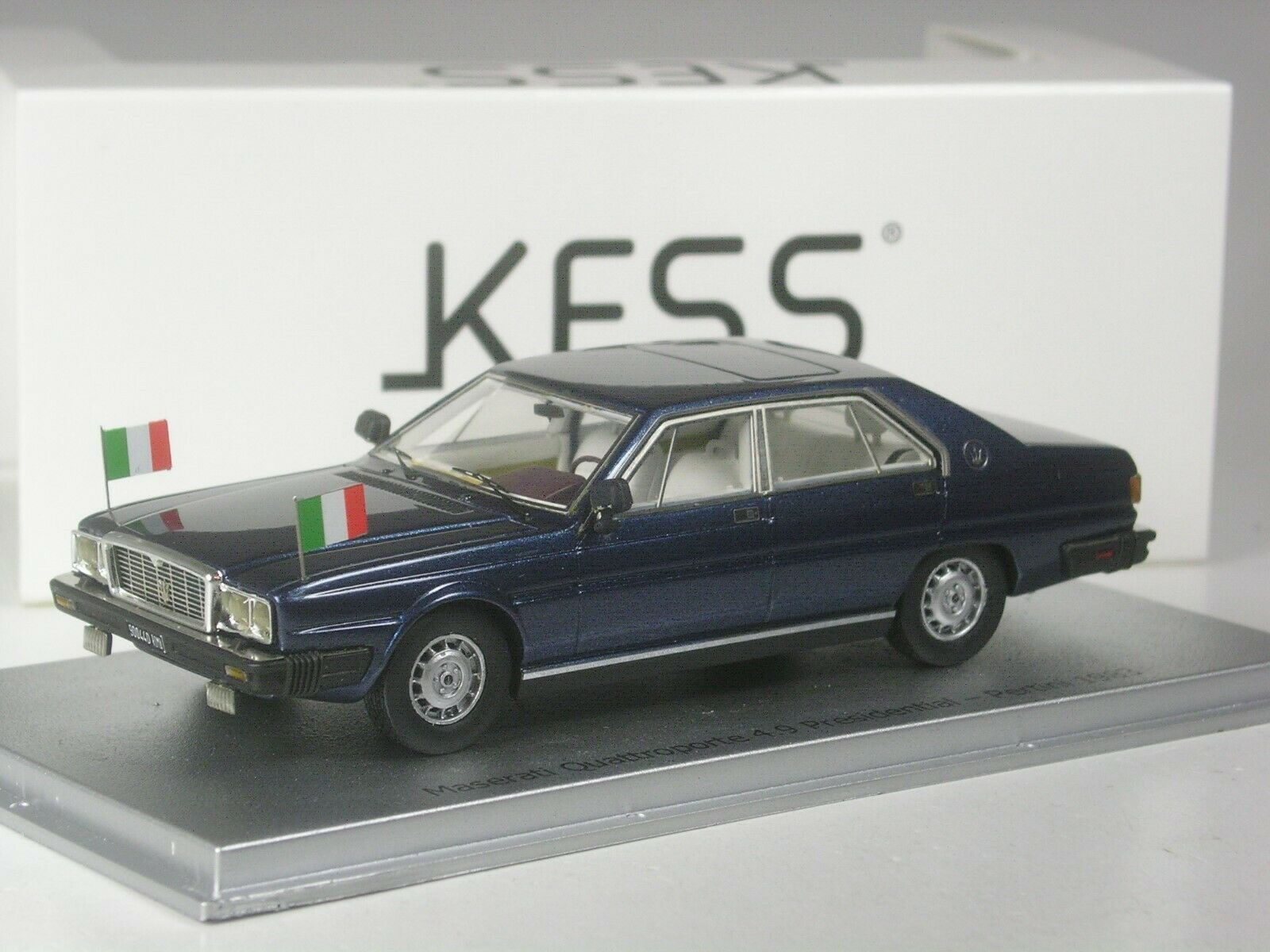 (ki-11-19) kess Maserati Quattroporte 4,9 presidential Pertini 1983 1 43 en OVP