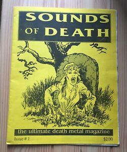 SOUNDS OF DEATH aka S.O.D (USA) 1st ISSUE Death/Black/Thrash Underground Zine!