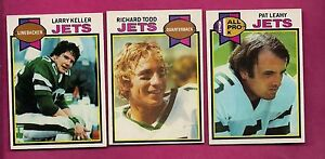 1979-TOPPS-JETS-TODD-LEAHY-KELLER-CARD-INV-A2855