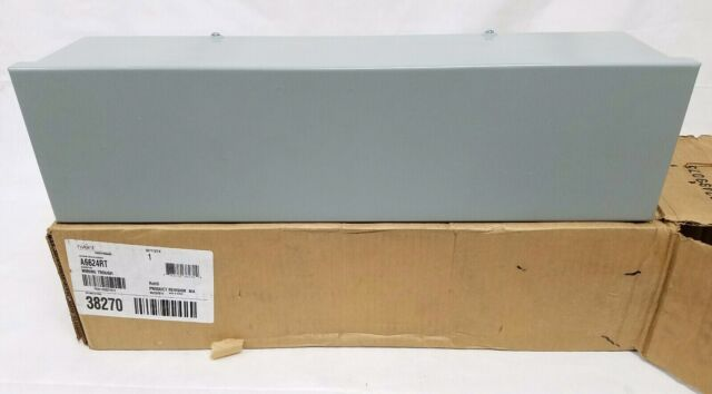 """9 AVAILABLE 1 NEW HOFFMAN NVENT A101036RT WIRING TROUGH NEMA 3R 10 X 10 X 36/"""""""