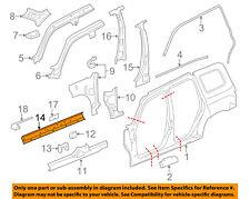 84009784  Frame Reinforcement Left New OEM GM 2015-18 Silverado Sierra 1500 4WD