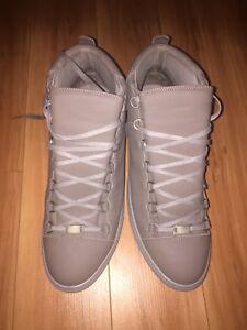 9f021f796b14c Balenciaga Men s Arena Leather Mid-Top Sneaker size us 12 EU 45