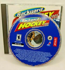 Atari Backyard Hockey 2005 PC CD ROM Game Software ...