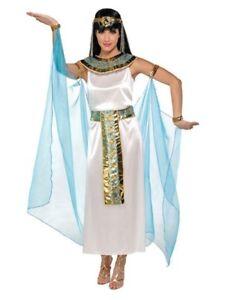 Caricamento dell immagine in corso Donna -Cleopatra-Egiziano-Storico-Carnevale-Costume-Vestito-UK- fd272e1e9f73