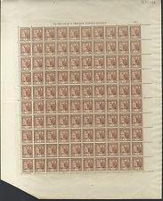 ANDORRA ESPAÑOLA - AÑO 1935 NUM 28 ** MNH - PLIEGO 100 EJEMPLARES