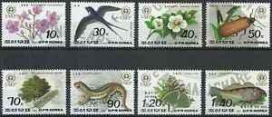 Timbres-Faune-Flore-Coree-2335-40-PA30-1-lot-17873