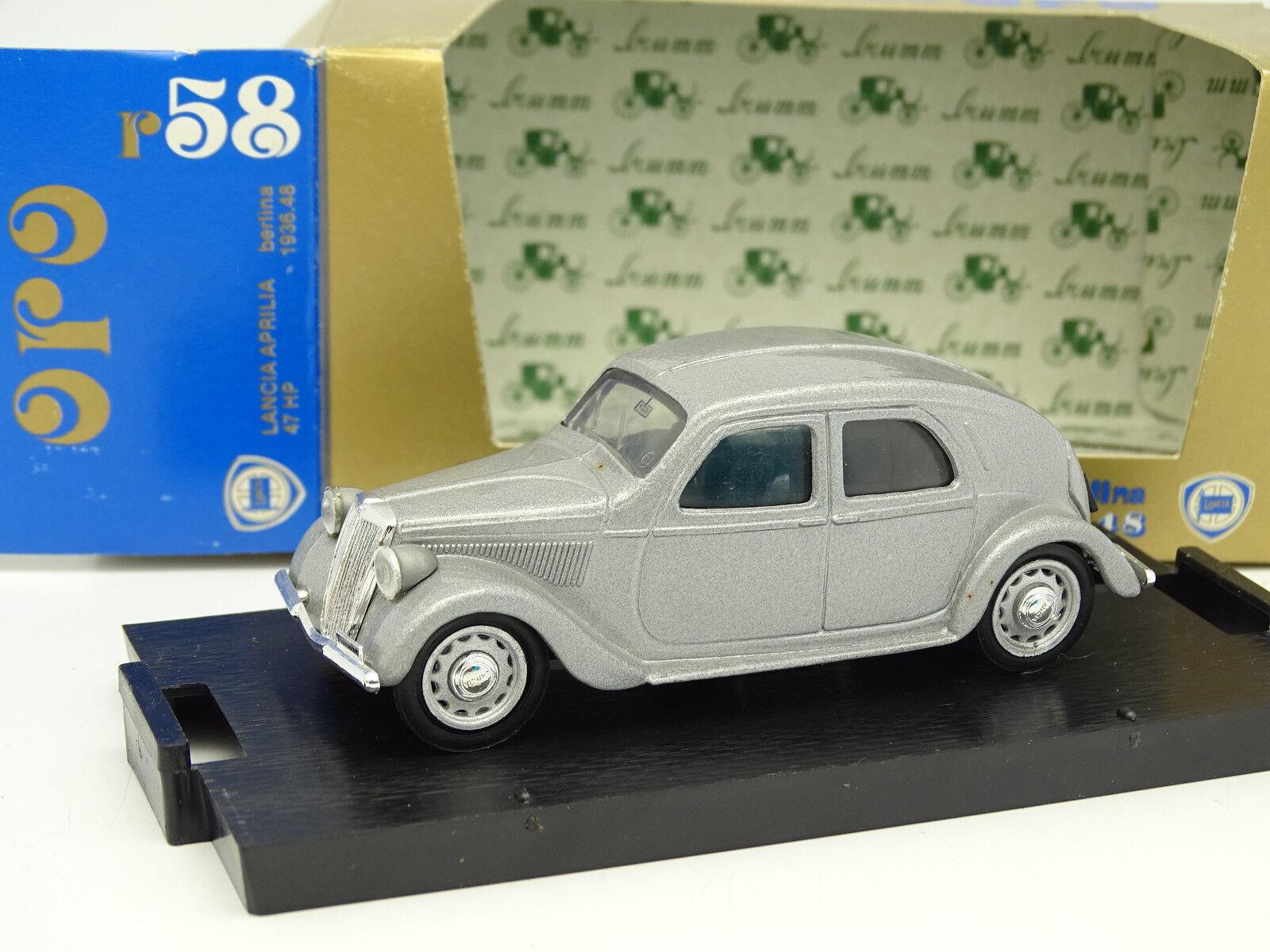 Brumm Brumm Brumm 1 43 - Lancia Aprilia 1934 silver 0ec5a0