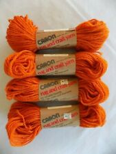 Caron Rug Craft Yarn Dacron Polyester 0002 Creme 70 yds 1.6oz Thick Crafts Rugs
