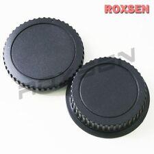 Camera Body Cap + Rear Lens Caps for Canon EOS EF mount 5D II 7D REBEL T1I XSI