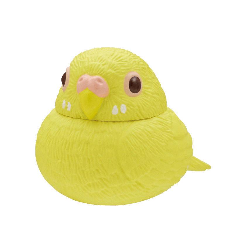 *96 Kitan Club Fuku Office Inko Chubby Office Fuku home Capsule Parot Parakeet Bird Yellow 71e69b