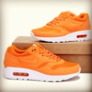 hot sale online cfc86 a385f Image is loading NIKE-AIR-MAX-90-Neon-Orange-LIMITED-EDITION-