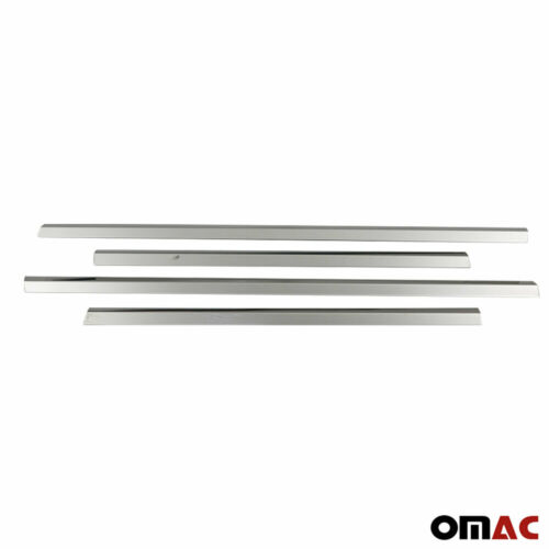 For Mercedes Ml W163 1998-2005 Chrome Window Sill Overlay Cover Set 4 Pcs Steel