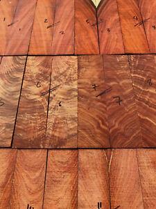 FSC East Africa rosewood pau rosa guitar fingerboard fretboard 605mm quartersawn