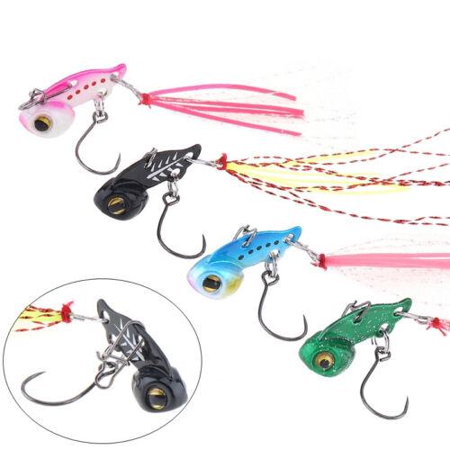 Mini VIB Hard Copper Metal Carp Baits 3g Vibration Wobbler Trout Fishing Lures