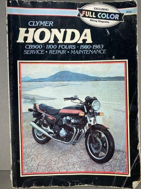 Clymer 1980 1983 Honda Cb900 1100 Fours Service Repair